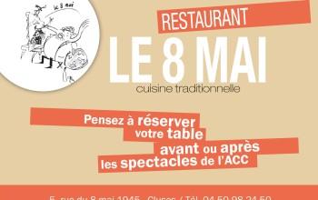 Restaurant le 8 mai