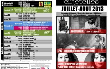 Juillet-Aout 2013